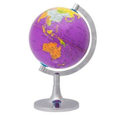Kookie Novelty-P World Globe Purple
