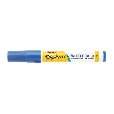 Stephens Fine Whiteboard Marker Blue