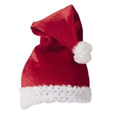 Wonderland Sequin Plush Santa Hat