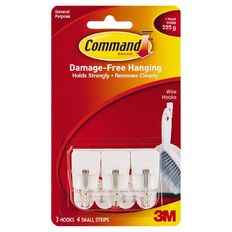 Command Small Wire Hooks