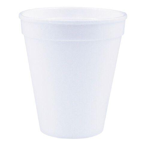 Lily Cups Foam 250ml 25 Pack