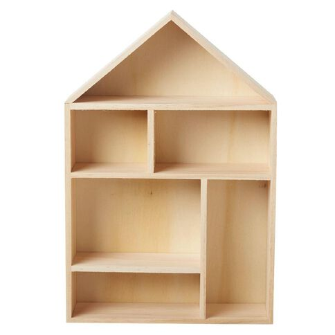 Uniti DIY Wood House Shelf
