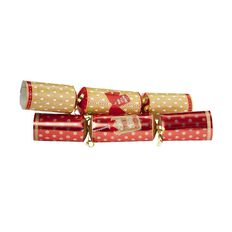 Artwrap Christmas Premium Crackers Kraft 30cm 10 Pack
