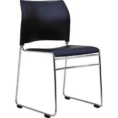 Buro Seating Maxim Stacker Chair Black Black