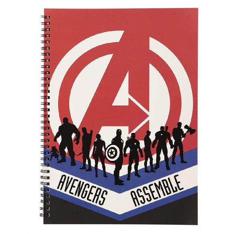 Avengers Soft Cover Notebook A4