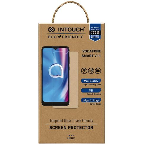INTOUCH Smart V11 Glass Screen Protector Clear