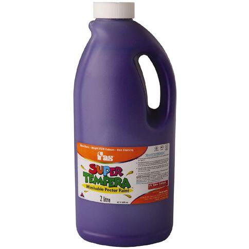 FAS Paint Super Tempera 2L Violet Purple 2L