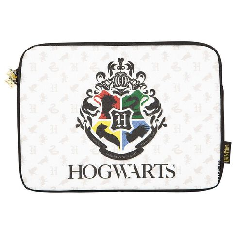 Harry Potter 11 inch Hogwarts Notebook Sleeve White
