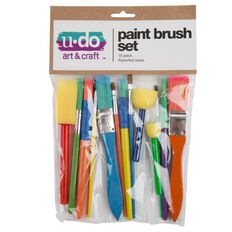 U-Do Paint Brush Set 15 Pieces