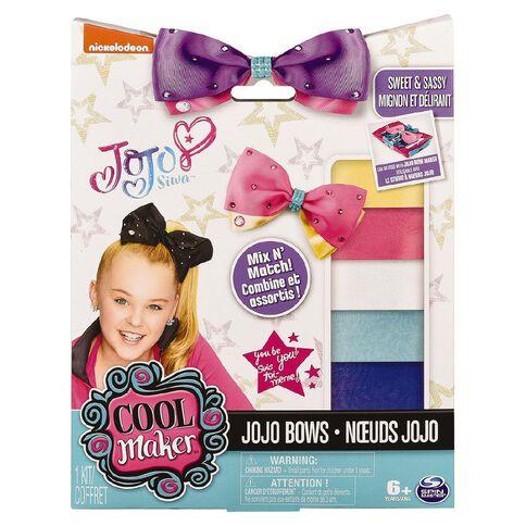 Jojo Siwa Bow Maker Accessory Pack