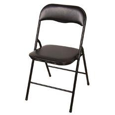 Living & Co Folding Chair Black