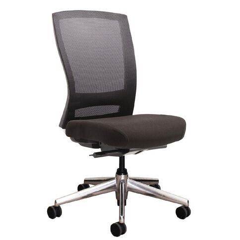 Buro Mentor Executive Chair Aluminium Base with Arms