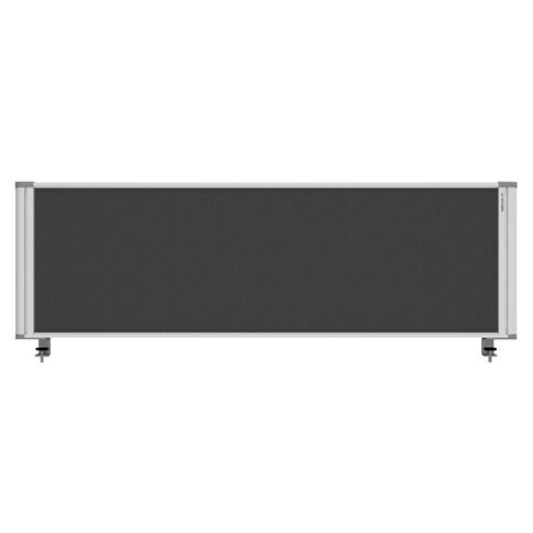 Boyd Visuals Desk Mounted Partition 1460W Grey