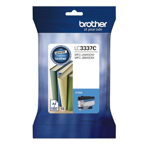 Brother Ink LC3337C Cyan (1500 Pages)