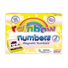 Junior Learning Rainbow Numbers Magnetic Numbers