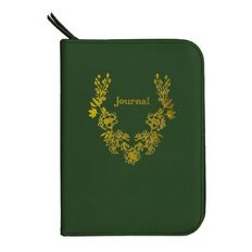 Uniti Secret Garden PU Zip Journal Notepads 80 Sheets A5