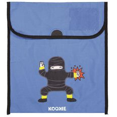Kookie Ninja Homework Bag Blue