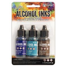 Ranger Tim Holtz Alcohol Ink Kit Mariner
