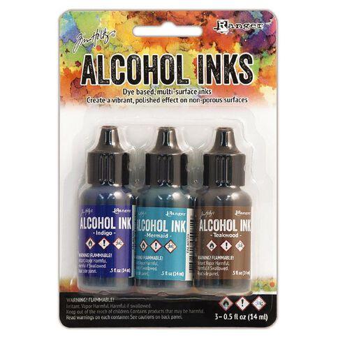Ranger Tim Holtz Alcohol Ink Kit Mariner