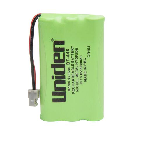 Uniden Cordless Phone Battery BT446 Green