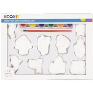 Kids' Art & Craft Paint Your Own Plaster Sea Life 10 Pack