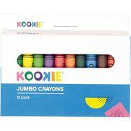 Kookie Jumbo Crayons 12 Pack