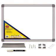 Writeraze Whiteboard 420 x 600mm White A2