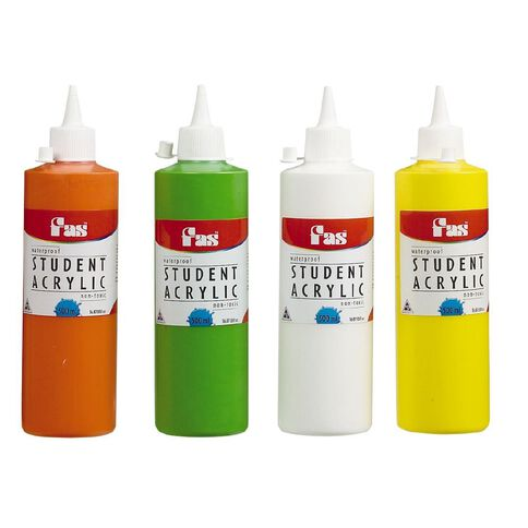 FAS Paint Student Acrylic 500ml Cool Blue Blue 500ml