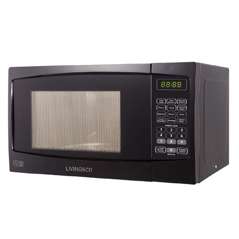 Living & Co Microwave 800w 20 Litre Black