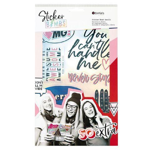 Rosie's Studio Stickerbomb Set Sophisti-cool