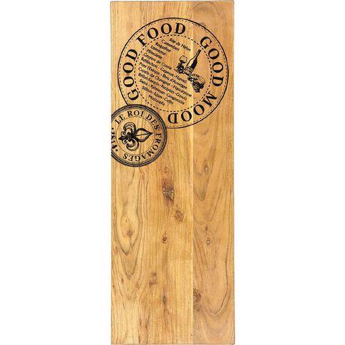 Living & Co Printed Serve Board Rectangle 70cm x 25cm