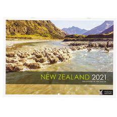 John Sands 2021 Calendar New Zealand Cities & Places 210mm x 297mm