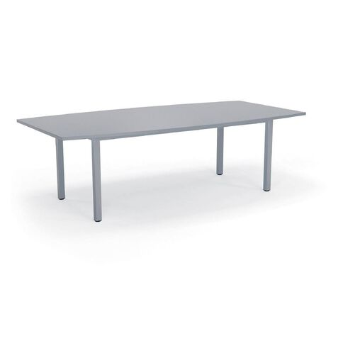 Cubit Boardroom Table 2400 Silver