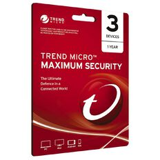 Trend Micro NZTMIS Maximum Security 1-3D 12M ESD