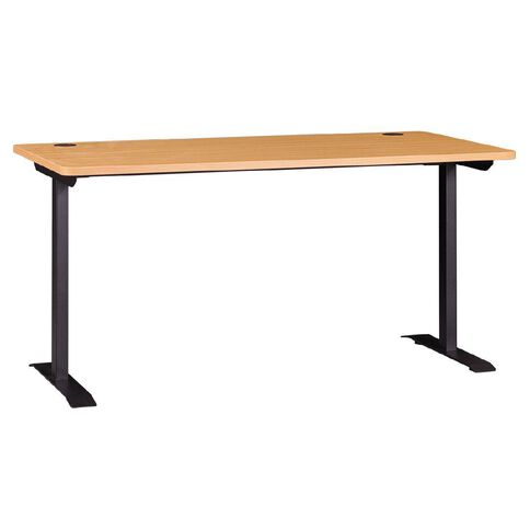Workspace Office Brand Metal Leg Desk Tawa 1500
