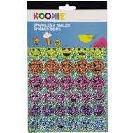 Kookie Sticker Book 5 Page Sparkles & Smiles