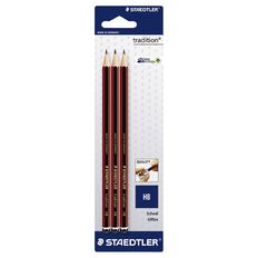 Staedtler Tradition Pencil Hb 3 Pack Black