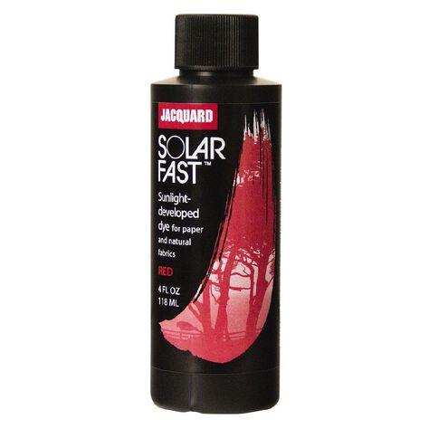 Jacquard Solarfast Dye 118.29ml Red