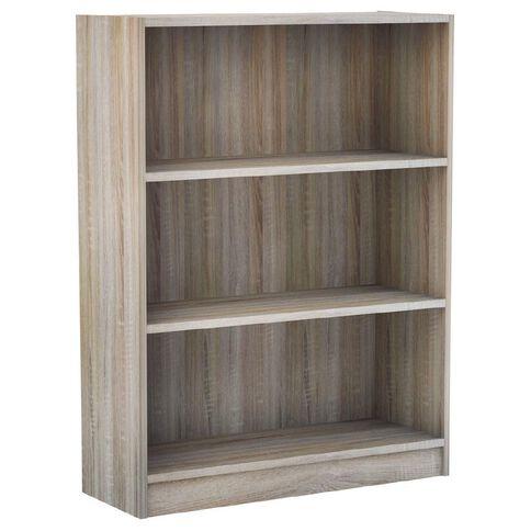Workspace Soho 3 Tier Bookcase Walnut