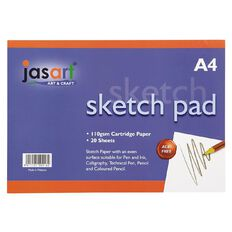 Jasart Sketch Pad A4 20 Sheets A4