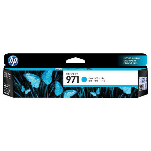 HP Ink 971 Cyan (2500 Pages)