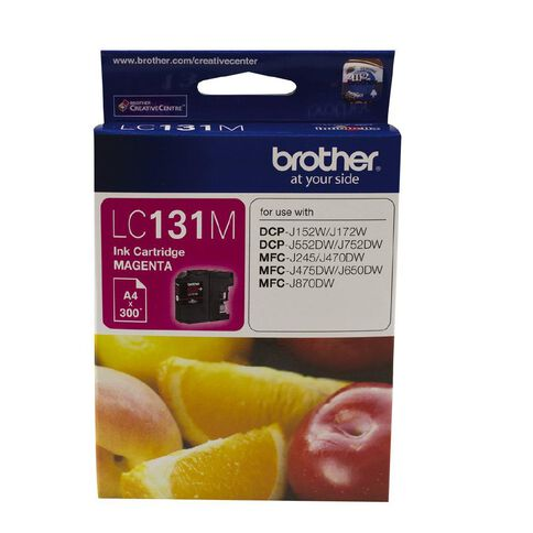 Brother Ink LC131 Magenta (300 Pages)