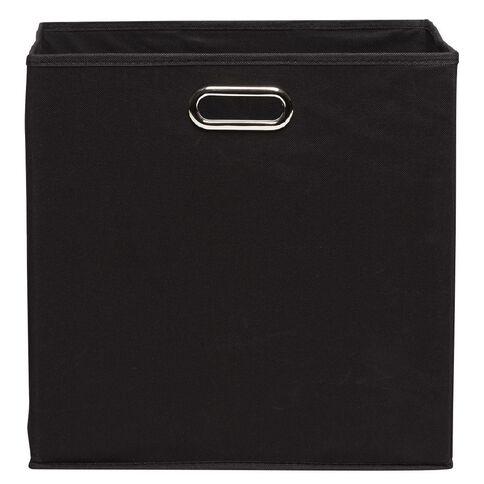 Workspace Storage Box Folding 8 Cube Black