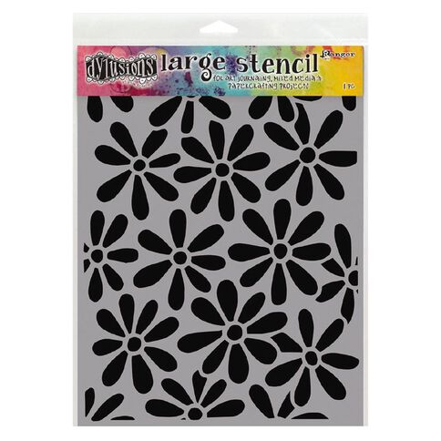 Ranger Dylusions Stencil Spring Bloom Large