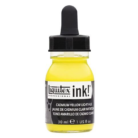 Liquitex Ink 30ml Cadmium Light Hue Yellow
