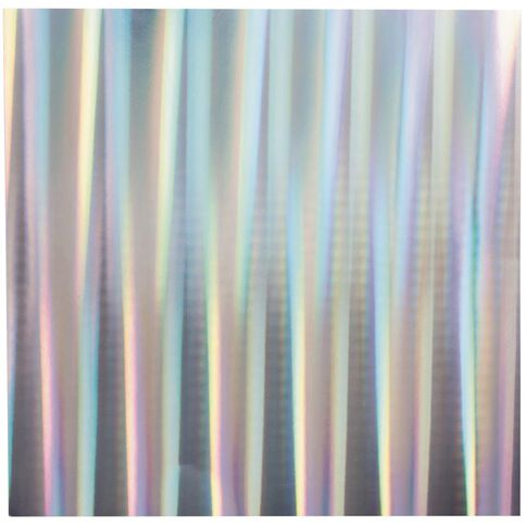 Bazzill Cardstock 12 x 12 Holographic Silver