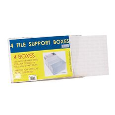 Filecorp Autolock Box 4 Pack