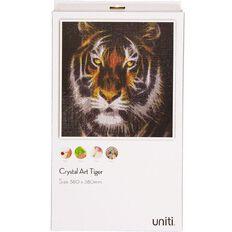 Uniti Crystal Art 38x38cm Tiger