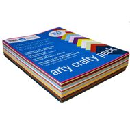 Direct Paper Arty Crafty Pack 160 Sheets Assorted A4