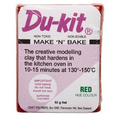 Du-kit Clay Red 50g